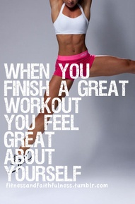 finish a great workout