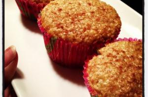 oatmeal strawberry banana muffin recipe