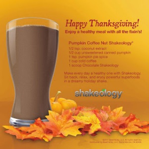 pumpkin shakeology recipe