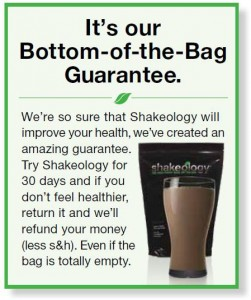 shakeology-guarantee