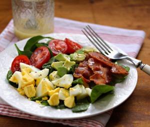 spin salad